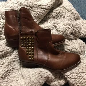 NWT 14th & Union Brown Leather Presley Boot